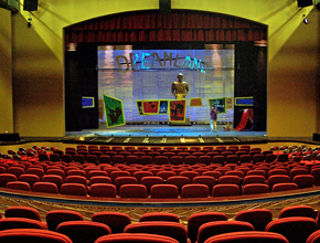 theater with stage
