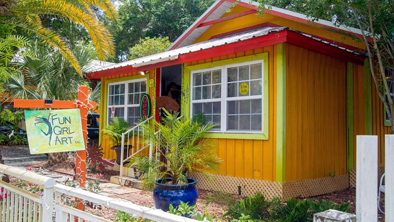 colorful cottage