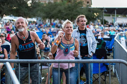 people dancing at Bradenton Blues Festival