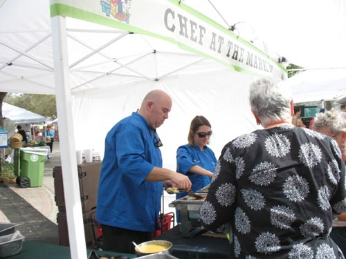 chef at the market in bradenton